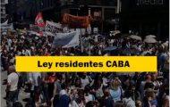 Ley de residentes CABA
