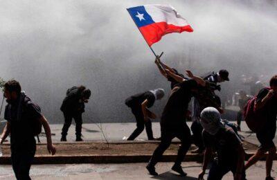 Manifestaciones en Chile contra Piñera